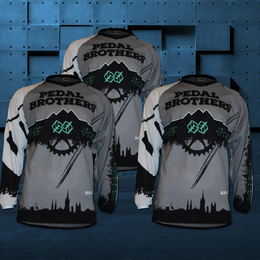 Pedal Brothers Downhill Shirts