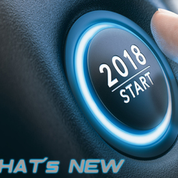 What´s New in 2018