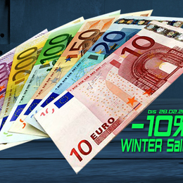 Winter Sale  - 10% Rabatt bis 28.02.2017